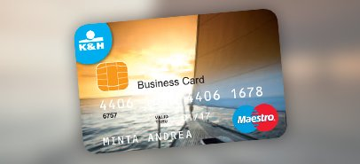 üzleti bankkártyák - K&H bank és biztosítás